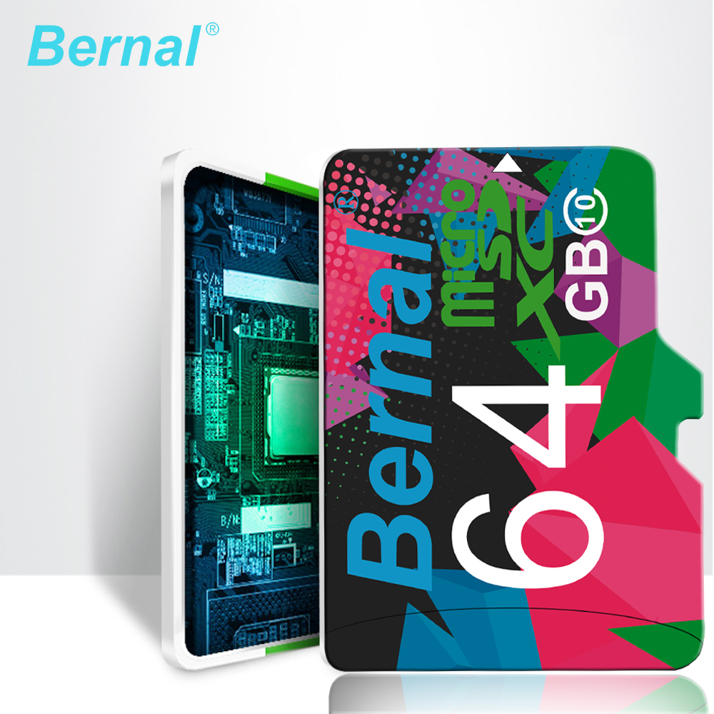 2018 Bernal mikro sd kart 64 gb 128G Class10 cartao de memoria mikro sd 8 GB 16 GB microsd 32 GB mini sd kart Hafıza kartı TF kartı