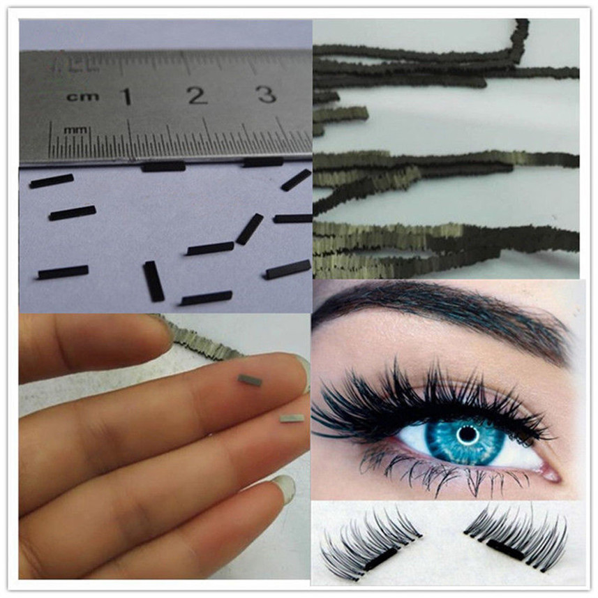Maquiagem Yeni Varış 12 Adet Reusable-Magnet-Sheet-For-3D-Magnetic-False-Eyelashes-Extension-Handmade AU02