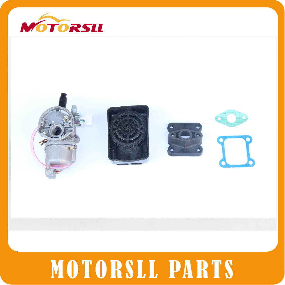 Xibuwang Karbüratör Carb Carby 2 İnme 43 47cc49cc Mini Moto Bike Pocket ATV Quad Minicross