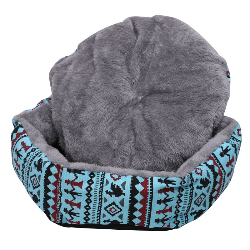 Warm Dog Cat Pet Bed Puppy Nest Animal House Cave Rabbit Kennel Sleeping Basket