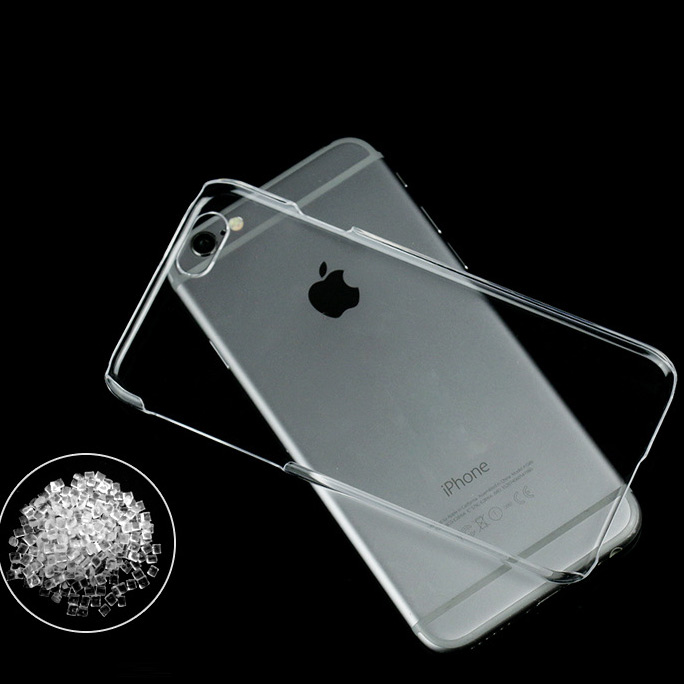 10 ADET/LOT. Şeffaf Crystal Clear İnce Hard Case iphone 4 4 S/5 5 S/6 6 S/6 ARTı 6 S ARTı/7/7 ARTı